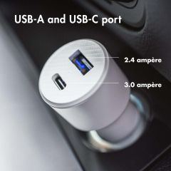 iMoshion Car Charger 20W + Power Delivery - Wit