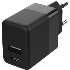 Accezz Wall Charger 20W + Power Delivery - Zwart