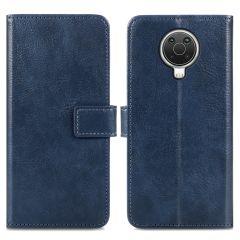 iMoshion Luxe Booktype Nokia G10 / G20 - Donkerblauw