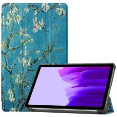 iMoshion Design Trifold Bookcase Galaxy Tab A7 Lite - Groene Plant