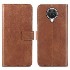 iMoshion Luxe Booktype Nokia G10 / G20 - Bruin