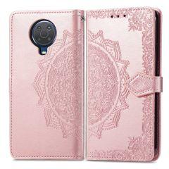 iMoshion Mandala Booktype Nokia G10 / G20 - Rosé Goud