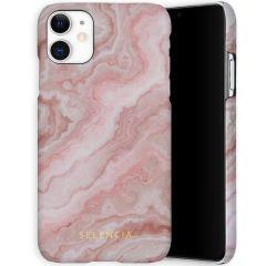 Selencia Maya Fashion Backcover iPhone 11 - Marble Rose