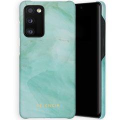 Selencia Maya Fashion Backcover Samsung Galaxy A41 - Marble Green