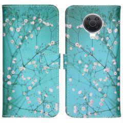 iMoshion Design Softcase Book Case Nokia G10 / G20 - Bloesem