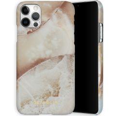 Selencia Maya Fashion Backcover iPhone 12 (Pro) - Earth White