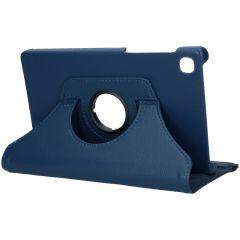 iMoshion 360° draaibare Bookcase Galaxy Tab A7 Lite - Donkerblauw