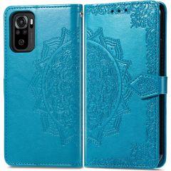 iMoshion Mandala Booktype Xiaomi Redmi Note 10 (4G) - Turquoise