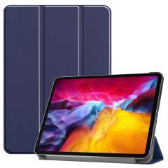 iMoshion Trifold Bookcase iPad Pro 11 (2018-2021) - Donkerblauw