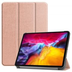 iMoshion Trifold Bookcase iPad Pro 11 (2018-2021) - Rosé Goud