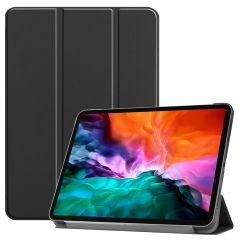 iMoshion Trifold Bookcase iPad Pro 12.9 (2021) - Zwart