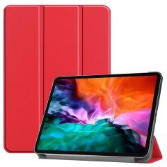 iMoshion Trifold Bookcase iPad Pro 12.9 (2021) - Rood