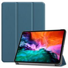 iMoshion Trifold Bookcase iPad Pro 12.9 (2021) - Donkergroen