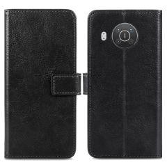 iMoshion Luxe Booktype Nokia X10 / X20 - Zwart