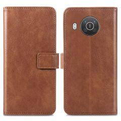 iMoshion Luxe Booktype Nokia X10 / X20 - Bruin
