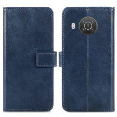 iMoshion Luxe Booktype Nokia X10 / X20 - Donkerblauw