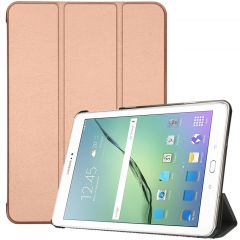 iMoshion Trifold Bookcase Samsung Galaxy Tab S2 9.7 - Rosé Goud
