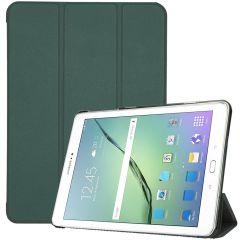iMoshion Trifold Bookcase Samsung Galaxy Tab S2 9.7 - Donkergroen