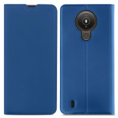 iMoshion Slim Folio Book Case Nokia 1.4 - Donkerblauw