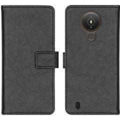 iMoshion Luxe Booktype Nokia 1.4 - Zwart