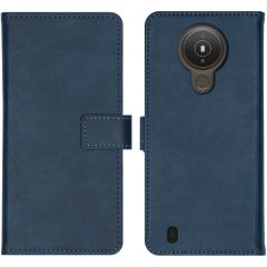 iMoshion Luxe Booktype Nokia 1.4 - Donkerblauw