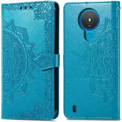 iMoshion Mandala Booktype Nokia 1.4  - Turquoise