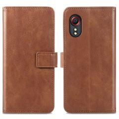 iMoshion Luxe Booktype Samsung Galaxy Xcover 5 - Bruin