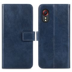 iMoshion Luxe Booktype Samsung Galaxy Xcover 5 - Donkerblauw