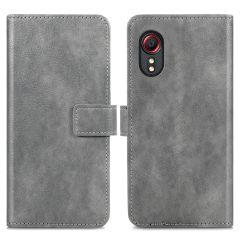 iMoshion Luxe Booktype Samsung Galaxy Xcover 5 - Grijs