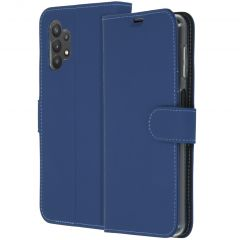 Accezz Wallet Softcase Booktype Galaxy A32 (5G) - Donkerblauw