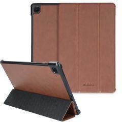 Selencia Nuria Vegan Lederen Trifold Book Case Galaxy Tab S6 Lite
