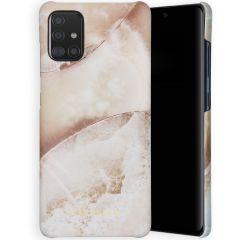 Selencia Maya Fashion Backcover Samsung Galaxy A71 - Earth White