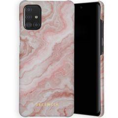 Selencia Maya Fashion Backcover Samsung Galaxy A71 - Marble Rose