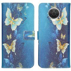 iMoshion Design Softcase Book Case Nokia G10 / G20 - Vlinders