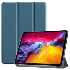 iMoshion Trifold Bookcase iPad Pro 11 (2018-2021) - Donkergroen