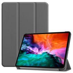 iMoshion Trifold Bookcase iPad Pro 12.9 (2021) - Grijs