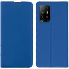 iMoshion Slim Folio Book Case Oppo A94 (5G) - Blauw