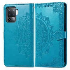 iMoshion Mandala Booktype Oppo A94 (5G) - Turquoise