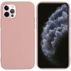 iMoshion Color Backcover iPhone 12 (Pro) - Dusty Pink