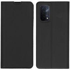 iMoshion Slim Folio Book Case Oppo A74 (5G) - Zwart