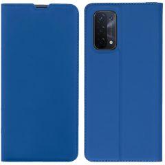 iMoshion Slim Folio Book Case Oppo A74 (5G) - Blauw