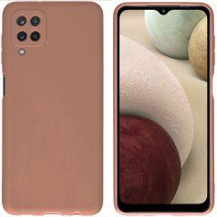 iMoshion Color Backcover Samsung Galaxy A12 - Taupe