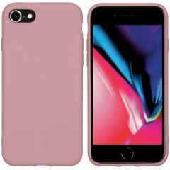 iMoshion Color Backcover iPhone SE (2020) / 8 / 7 - Dusty Pink
