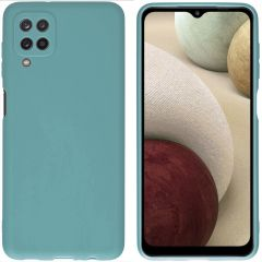 iMoshion Color Backcover Samsung Galaxy A12 - Donkergroen