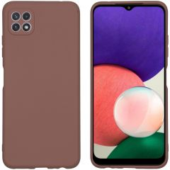 iMoshion Color Backcover Samsung Galaxy A22 (5G) - Taupe