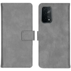 iMoshion Luxe Booktype Oppo A74 (5G) - Grijs