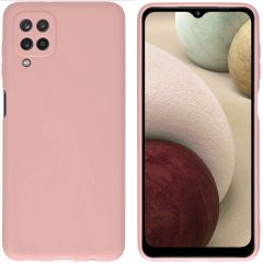 iMoshion Color Backcover Samsung Galaxy A12 - Dusty Pink
