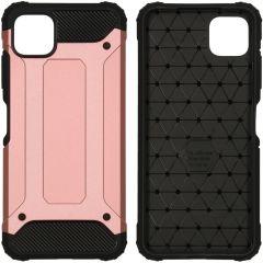 iMoshion Rugged Xtreme Backcover Samsung Galaxy A22 (5G) - Rosé Goud