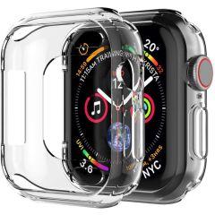 iMoshion Softcase + Screenprotector Apple Watch Series 4-7 / SE 40 mm