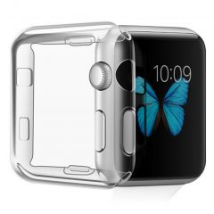 iMoshion Softcase + Screenprotector Apple Watch Serie 1-3 42 mm